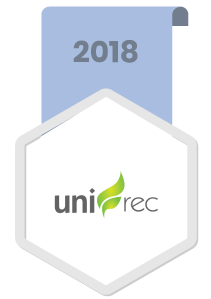 2018 UNIREC, TDF products by recycling tires to produce Alterative fuel, rubber products, spare parts products and flooring for sports courses.